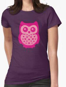 Cute Pink Baby Owl T-Shirt