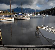 Geilston Bay, Tasmania by David Bellamy