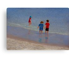 """Summer Holiday"" Pastel painting by Alison Murphy Canvas Print"