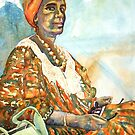 Harmony - Somali Lady in Katanning by scallyart