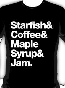 Starfish Coffee Helvetica Ampersand Prince T-Shirt & More T-Shirt