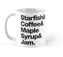 Starfish Coffee Helvetica Ampersand Prince T-Shirt & More Mug