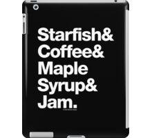 Starfish Coffee Helvetica Ampersand Prince T-Shirt & More iPad Case/Skin
