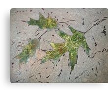 Pin Oak Leaves Canvas Print