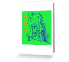 Big, tall and hot as hell Greeting Card