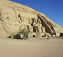 Abu Simbel Egypt by desertman