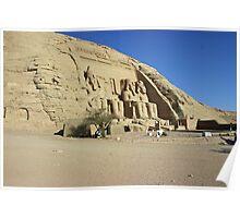 Abu Simbel Egypt Poster