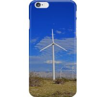 Windmill in the Desert  iPhone Case/Skin