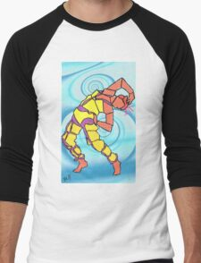 Abstract Dancer Men's Baseball ¾ T-Shirt