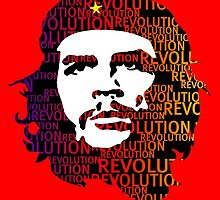 Che Guevara Revolution by monsterplanet