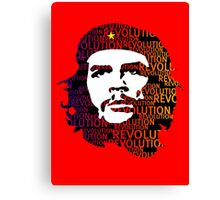 Che Guevara Revolution Canvas Print