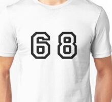 Number Sixty Eight Unisex T-Shirt