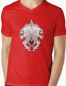 Helm of Doom - vector style Mens V-Neck T-Shirt