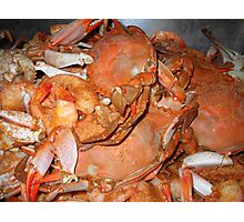 """Hot Crabs"" Photographic Print"