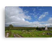 Scene from Co. Clare Canvas Print