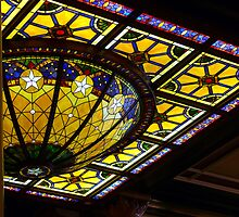 Stained Glass Detail by garytx