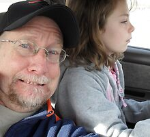 Was I scared when I let my grand daughter drive my car???? by Kevin McGeeney