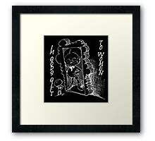 Gods gift to woman Framed Print