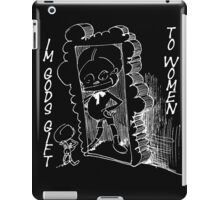Gods gift to woman iPad Case/Skin