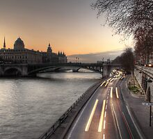 Along the Seine by Irina-C