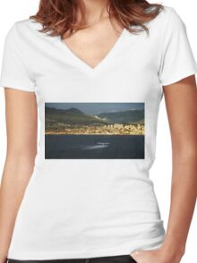 Vancouver's Favourite Vehicle  Women's Fitted V-Neck T-Shirt