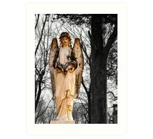 Cemetary Angel Art Print