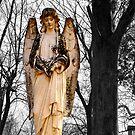 Cemetary Angel by Richard Skoropat