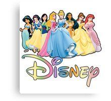 Disney Princesses Canvas Print
