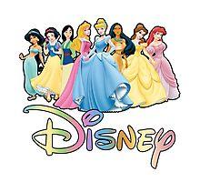 Disney Princesses Photographic Print
