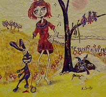 Rabbit Stew by scallyart