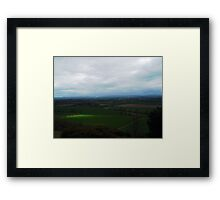 View From Haughmond Hill Framed Print