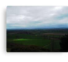 View From Haughmond Hill Canvas Print