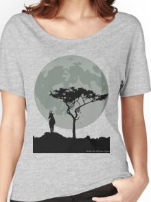 topi moonlit silhouette Women's Relaxed Fit T-Shirt