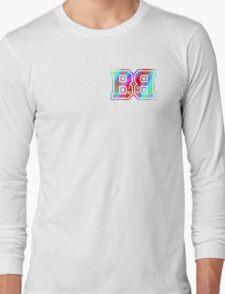 Big Boy BB Rainbow Logo  Long Sleeve T-Shirt