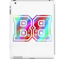 Big Boy BB Rainbow Logo  iPad Case/Skin