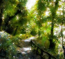 Deeper into the Greenwood by RC deWinter