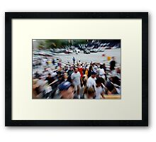 Full House at Yankee Stadium Framed Print