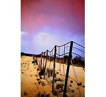 Rabbit Proof Fence Photographic Print