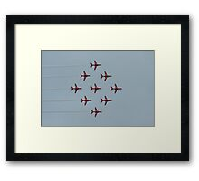 Diamond Nine Framed Print