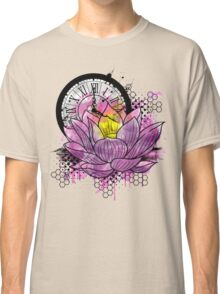 A Tranquil Time - Abstract Lotus Classic T-Shirt