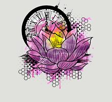 A Tranquil Time - Abstract Lotus Unisex T-Shirt