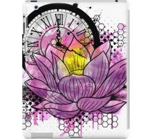 A Tranquil Time - Abstract Lotus iPad Case/Skin