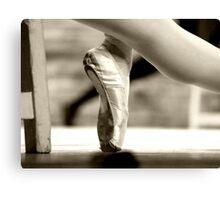 Ballerina foot Canvas Print