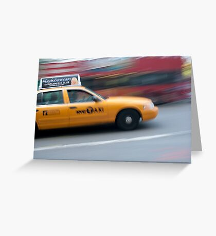 TAXI!  Greeting Card