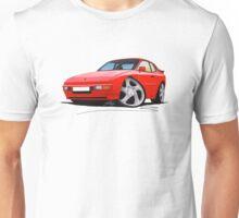 Porsche 944 Red T-Shirt
