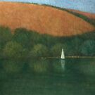 Sailing at Trelissick, Cornwall by Stephen Mitchell