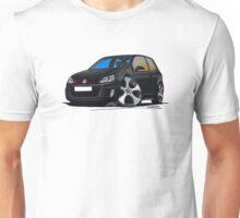 VW Golf GTi (Mk6) Black Unisex T-Shirt
