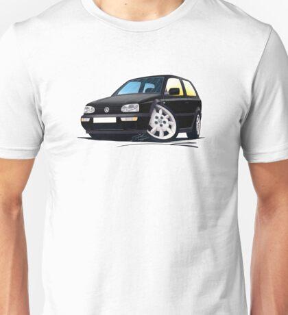 VW Golf (Mk3) Black Unisex T-Shirt