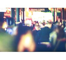 The Big City Lights Photographic Print