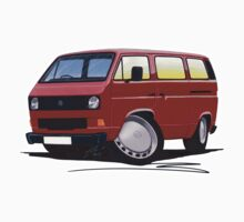 VW T25 / T3 D.Red Kids Clothes